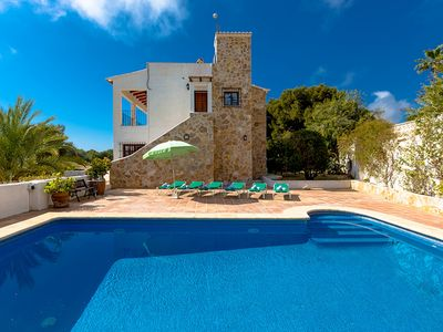 Photo for IRINA, villa for 8 guests with private pool in Moraira