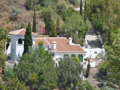 Photo for Charming Villa, private pool, fabulous views, wifi, close to Competa and the sea