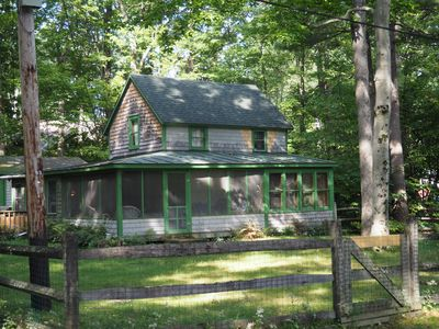 Photo for Classic Vermont Cabin On 2.5 Acres With Lake Frontage