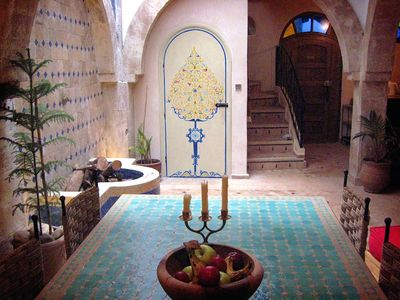 Photo for Beautiful medina riad in Essaouira with sea view