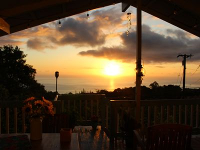 Photo for Paradise#gateway#ocean views#mountain breeze#amazing sunsets & stars#Kona coffee