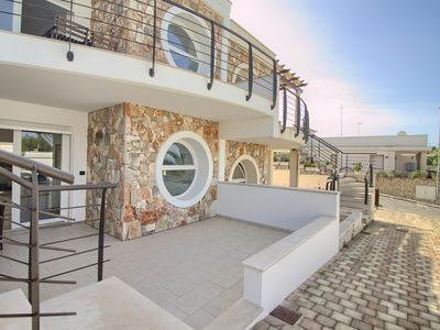 Photo for Luci Beach House apartment in Marina San Gregorio with WiFi & air conditioning.