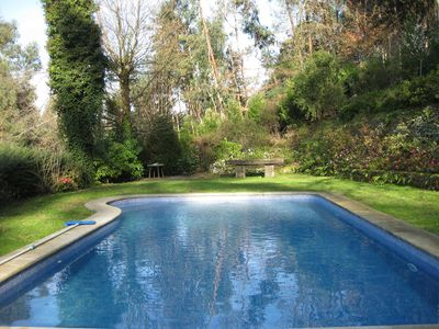 Photo for Charming villa with private pool in the river