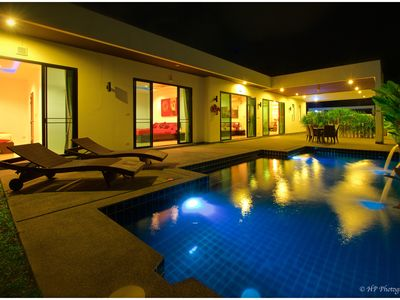 Photo for VILLA PRIVATE POOL - 3CH - 7P - Residential Area - Included Services.