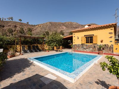 Photo for San Bartolome de Tirajana country house with private pool with free Wi-Fi