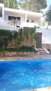 Photo for Family friendly summer house with private pool
