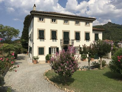 Photo for Villa Carrara, historic mansion just three miles from Lucca.