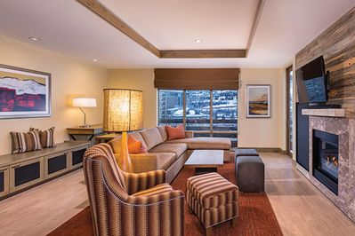 Spacious and comfortable great room provides ample room to relax