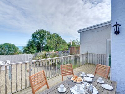 Photo for An old terraced cottage, close to the centre of the popular seaside town of New Quay, within walking