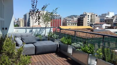 Photo for Hidesign Athens Art Loft Penthouse with Acropolis view