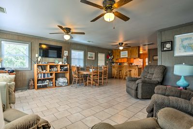 You'll have plenty of space to relax inside this 2-floor apartment.