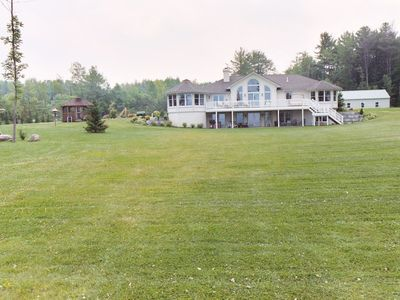 Photo for Spacious lake front  home on the beautiful Great Sacandaga.