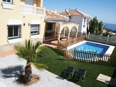 Photo for Stunning villa with seaview and private swimming pool, 4 badrooms and 3 bathroom