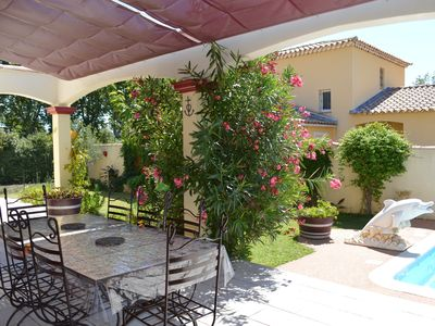 Photo for SUPERB QUIET WITH LARGE SHADED TERRACE AND PRIVATE POOL
