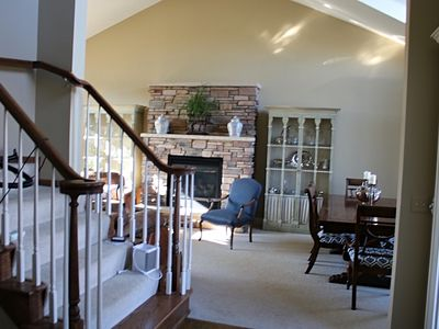 Photo for Beautiful large home sitting on the 7th hole of Crystal Lake Golf course.