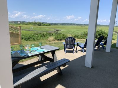 Photo for 2 Bedroom Cottage Steps from Wells Beach with Views of Rachel Carson Preserve
