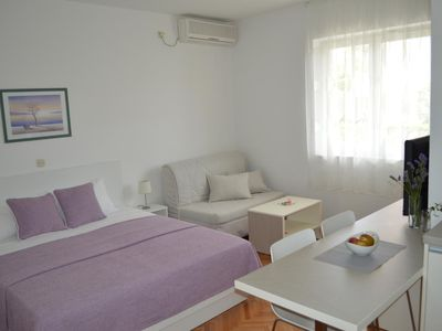 Photo for Studio flat with balcony Zadar - Diklo (Zadar)