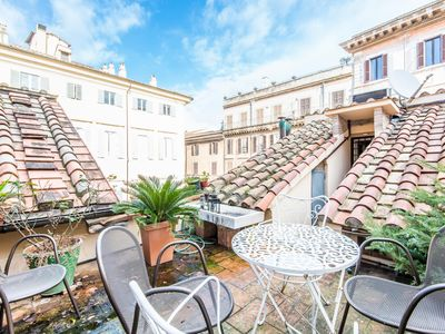 Photo for Piazza Navona Luxury Terrace Apartment