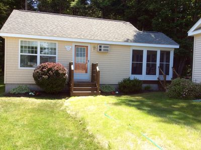 Photo for Cozy and Immaculate cottage with private setting in Beach Dreams Community