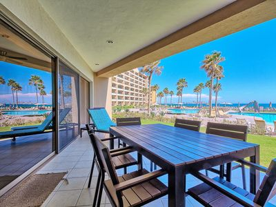 Photo for Family Friendly Condo, Direct Ground Floor Access To Pool/Beach at Sonoran Spa