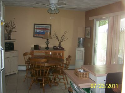 screened deck with kitchen walk to misquamicut beach sleeps 93 homeaway westerly