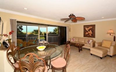 Photo for Firethorn 111 - 2 Bedroom Condo with Private Beach with lounge chairs & umbrella provided, 2 Pool...