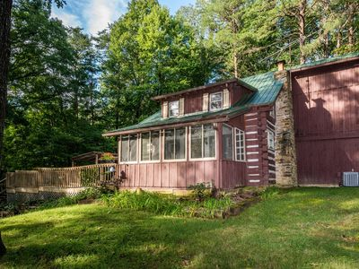 Photo for Atop Pine Hill Log Cabin