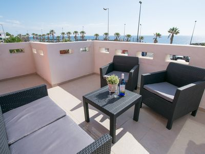 Photo for Large Penthouse 60m from Beach & Pool