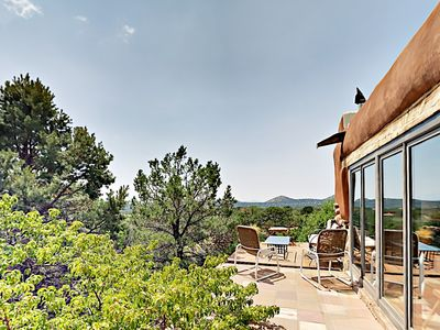Photo for Pueblo-Style 2BR w/ Terrace & Gazebo - Mountain View & Nearby Hiking Trails