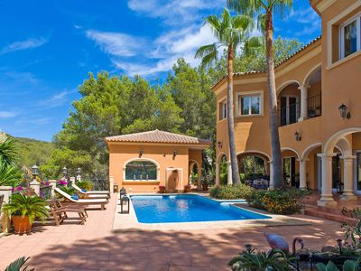 Photo for This 5-bedroom villa for up to 10 guests is located in Javea and has a private swimming pool and Wi-