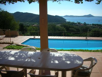Photo for Villasimius  breathtaking sea view, 9 sleeps  with private pool and WIFI