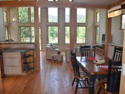 Photo for Unique home on West Fork Bitterroot River with direct access to National Forest