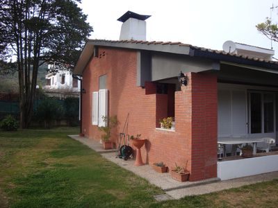 Photo for Villa San Felice Circeo 160 m2 and 1000 meters of garden, on a level