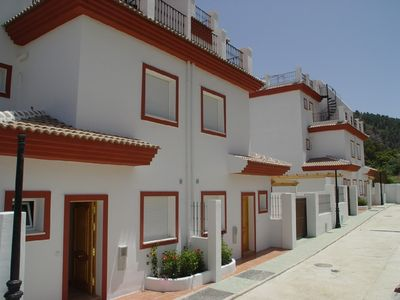 Photo for Luxury 3 bed 3 bath house with pool in Andalusian village