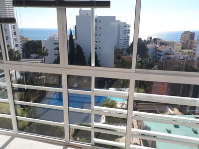 Photo for Beautiful apartment, facing the sea REF. MV00001AC