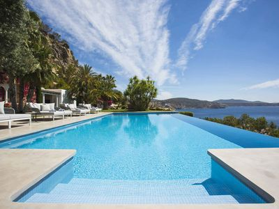 Photo for Breathtaking Ses Boques villa to ren in Ibiza by My Rental Homes