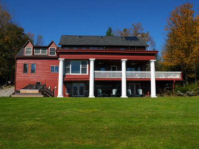 Photo for Foliage views at Tannersville Farmhouse! Book now!