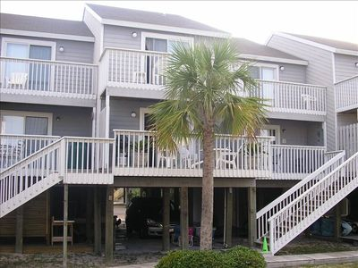 Photo for Booking Spring/Summer Barrier Dunes- Steps from beach, pools and tennis!