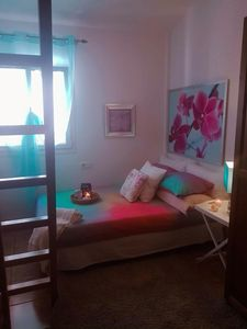 Photo for Comfortable room and bathroom, with terrace and exclusive dining room. By the sea