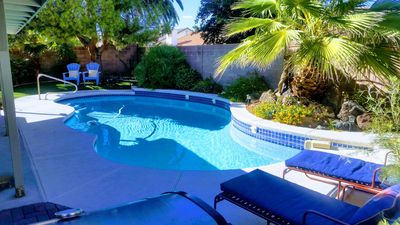 Enjoy your own private oasis in sunny Las Vegas