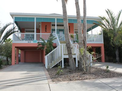 Photo for Your Island Paradise! Private heated pool, hot tub & game area.