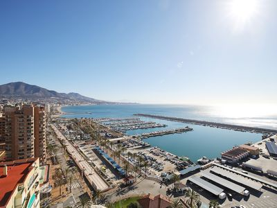 Photo for Study on the seafront and port of Fuengirola