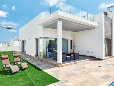 Photo for Ultra Modern Private Detached Villa,Pool,Ping Pong, 100mb Wi-fi, Close to Golf