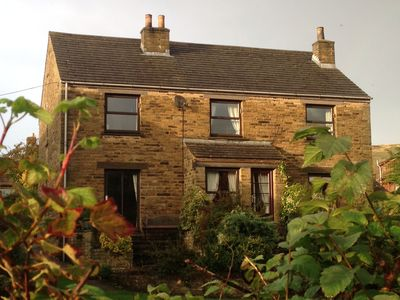 Photo for Beechcroft Cottage Reeth, set in two acres garden, river, ponds, amazing views
