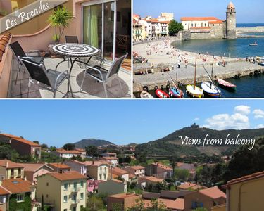 Photo for Spacious 2 bedroom apartment in Collioure