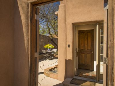 Photo for 5 Star Property!! Casa Miguelita--Modern And Serene Adobe, Walk To Canyon Road