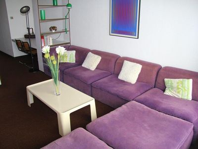 Photo for Friendly apartment on the dike of Heist for family with sea view.