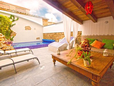 Photo for Catalunya Casas: Relaxing Villa Vic in the Barcelona mountains, with an on-site spa!