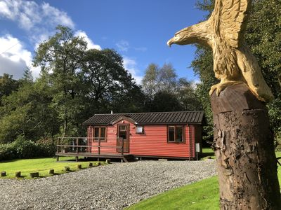 Photo for Luxury Riverside Lodge by Pucks Glen in the National Park near Dunoon