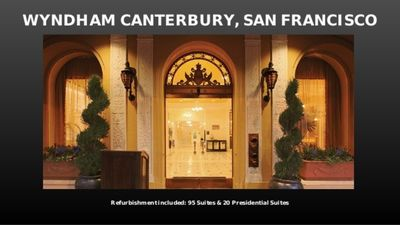 Photo for Luxurious Canterbury Hotel UNIT 5  Dream Force IT conference Nov.  9-12, 2020.